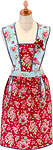 Cotton Hostess Apron - Ginger