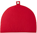 Plain Contemporary Red Tea Cozy