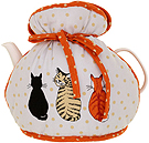 Cats in Waiting - Muff Tea Cozy
