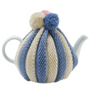 Pom Pom Knitted Tea Cozy