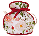 Traditional Rose - Muff Tea Cozy