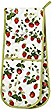 RHS Strawberry Double Oven Mitt