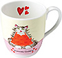 Domestic Goddess - Bone China Mug