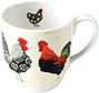 Rooster - Bone China Mug