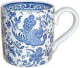 Burleigh - Mug - Blue Asiatic birds