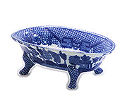 Blue Willow Bath Tub, 5L