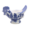 Blue Willow Hen Shape Egg Cup, 4L