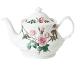David Austin Roses Fine Bone China Teapot, 6-Cup