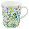 Bunny Meadow Bone China Mug - Blue Chintz