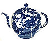 Blue Willow Tea Tidy