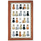 Cats Arrived - Linen Tea Towel