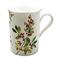 Christmas Berry China Tea Mug
