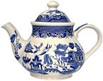 Churchill, 5-Cup Teapot - Blue Willow Ware