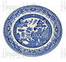 Churchill, Blue Willow Ware 7; Side Plate