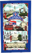 London & Street Names, Tea Towel