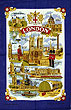 London Blue, Tea Towel
