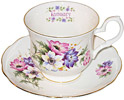 Flower of the Month, January - Cup and Saucer