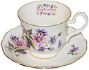 Flower of the Month, September - Cup and Saucer
