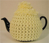 Knitted Tea Cozy, Yellow, Small 2-4 Cup