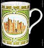Hampton Court, Cedar Bone China Mug