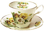 Flower of the Month, August - Cup and Saucer