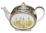 Sadler Teapot, Tower of London, 2-Cup