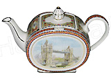 Sadler Teapot, Tower Bridge, 2-Cup