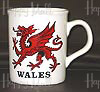 Welsh Dragon - Souvenir Mug