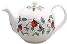Alpine Strawberry Fine Bone China Teapot - 2 Cup