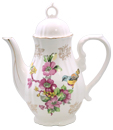Spring Bird Teapot - Young Lady Girl