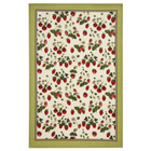 RHS Strawberry - Linen Tea Towel