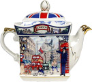 Sadler Teapot, Piccadilly, 2-Cup