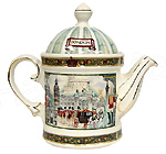 Sadler Teapot, Horse Guards, 2-Cup