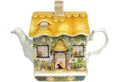 Sadler Teapot, Rose Cottage (Country Cottages), 2-Cup