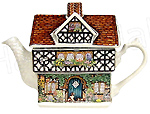 Sadler Teapot, Ivy House (Country Cottages), 2-Cup