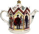 Sadler Teapot, Tower Heritage, 2-Cup