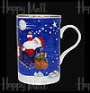 Santa's Sleight Bone China Mug