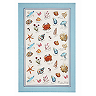Linen Tea Towel Seashore