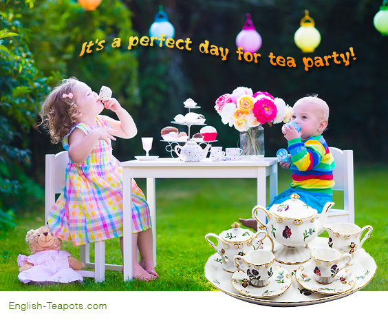 Tea Sets For Girls Childrens Sets For Little Girls Young Ladies