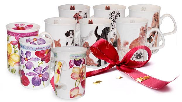 Bone China Mug Set